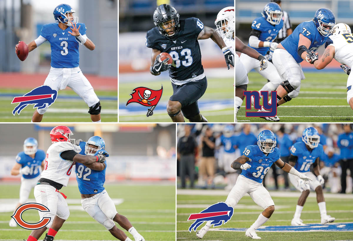 ce28c790 Congratulations to the Newest Buffalo Bulls in the NFL